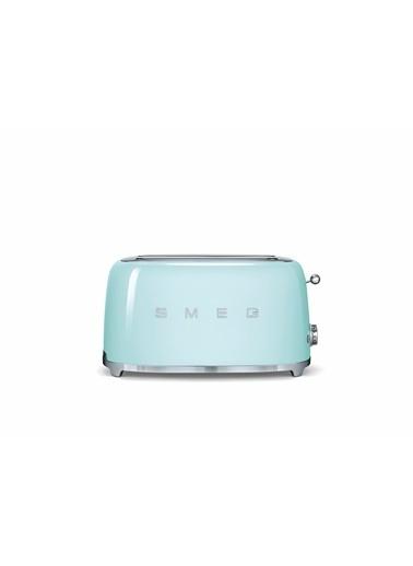 Smeg Tsf02Pgeu Retro Yeşil 2X4 Slot Ekmek Kızartma Makinesi Yeşil